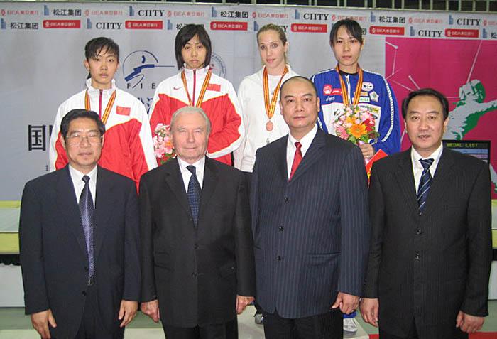 罗蒂诗蔓——2008女子佩剑世界杯大奖赛奖品用表